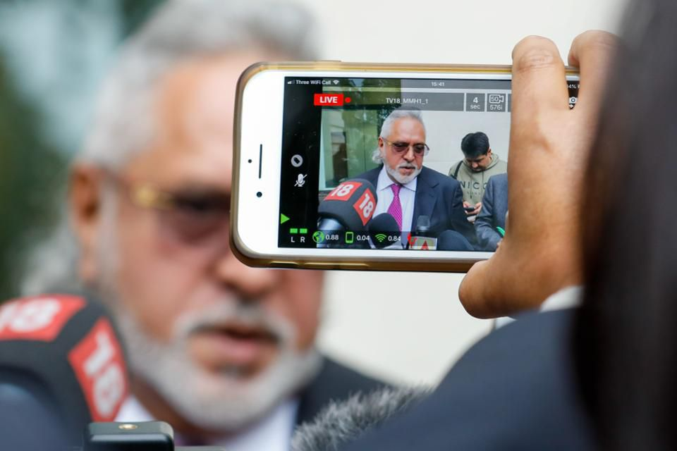 U.K. Approves Extradition Of Former Billionaire Vijay Mallya