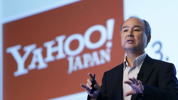 SoftBank's Vision Fund has already invested $70 billion, CEO Masayoshi Son says