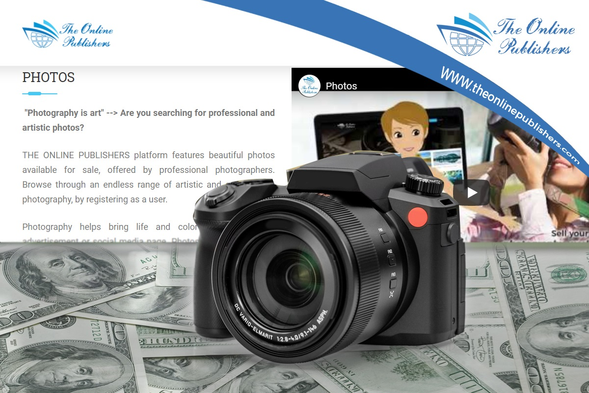 Top 4 Advantages of Selling Your Photos on the Internet